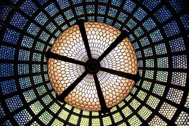 skleněný strop