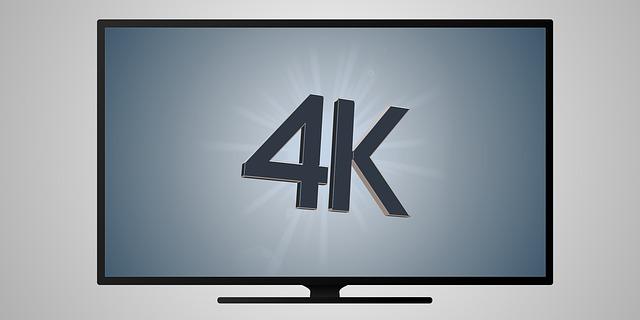 4K na obrazovce tv