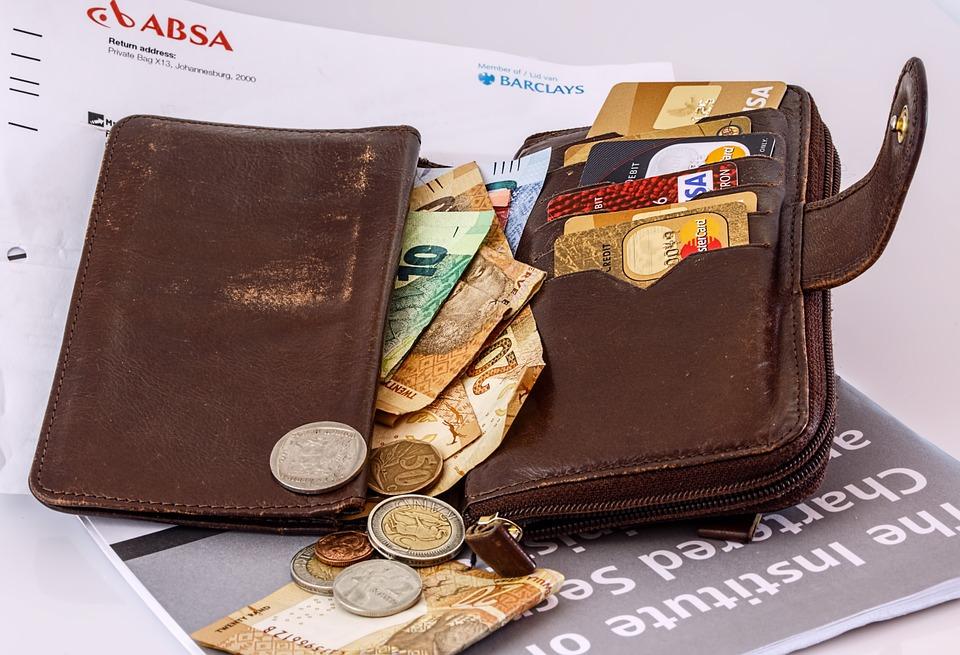jihoafrická peněženka